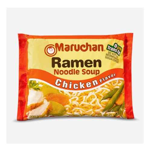 Maruchan Chicken Ramen Noodle Soup - 3oz, Maruchan Souper 6-Pack Chicken Ramen Noodle Soup - 18oz/6ct, Maruchan Beef Ramen Noodle Soup - 3oz