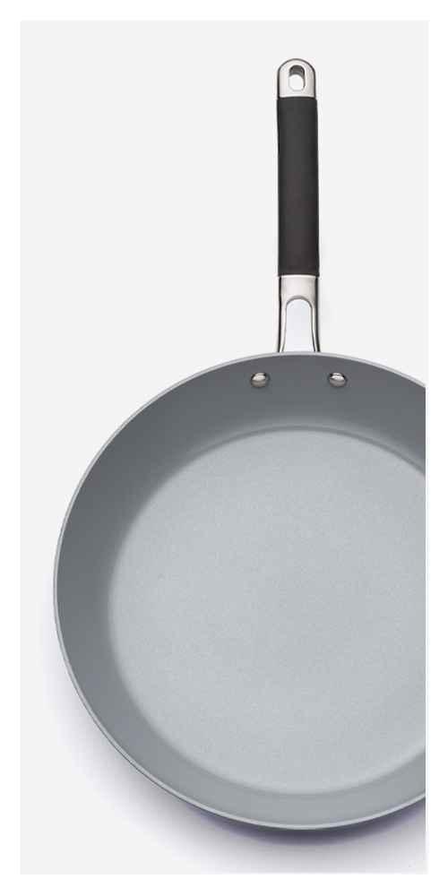 "Ceramic Coated Aluminum Skillet 12"" - Made By Design™"