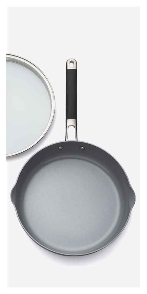 """Ceramic Coated Aluminum Covered Sauté Pan 10"""" - Made By Design™"""