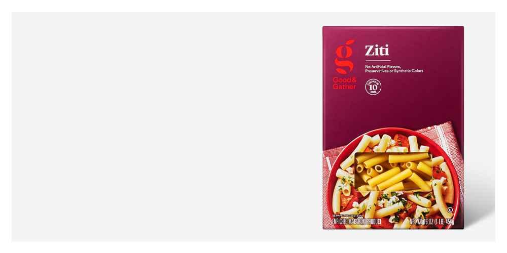 Ziti - 16oz - Good & Gather™, Penne Rigate - 16oz - Good & Gather™, Spaghetti - 16oz - Good & Gather™, Rotini - 16oz - Good & Gather™