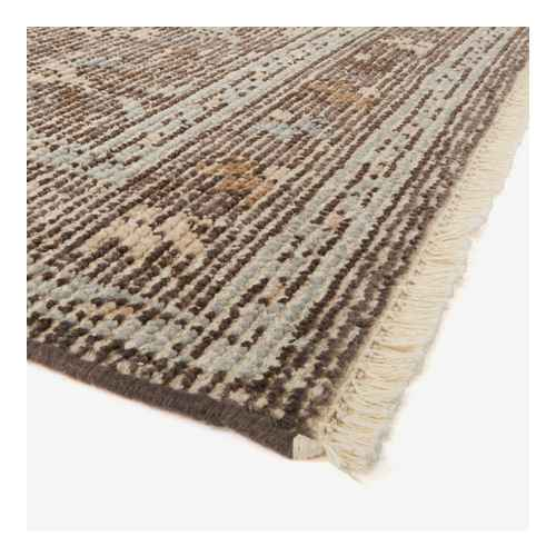 7'x10' Buena Park Hand Knot Persian Rug Brown - Threshold™ designed with Studio McGee