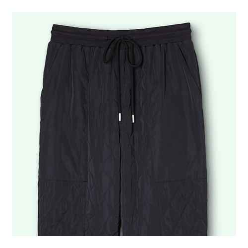 Women's Mid-Rise Quilted Jogger Pants - Sandy Liang x Target Black S, Women's Plus Size Mid-Rise Quilted Jogger Pants - Sandy Liang x Target Black 1X
