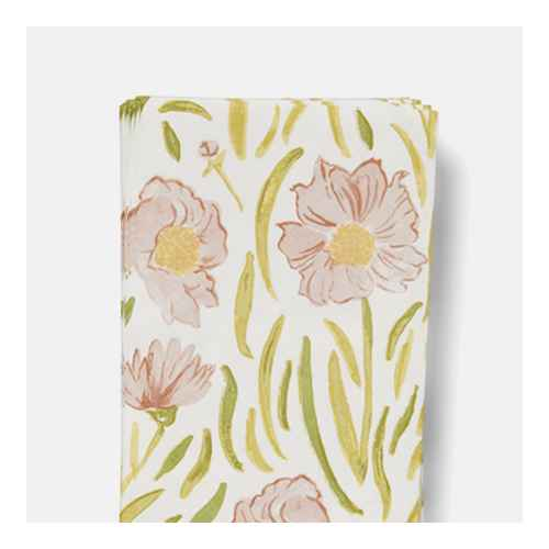 16ct Paper Flower Fields Disposable Guest Towels - Threshold™