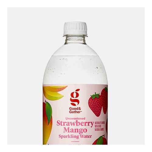 Strawberry Mango Sparkling Water - 1L Bottle - Good & Gather™