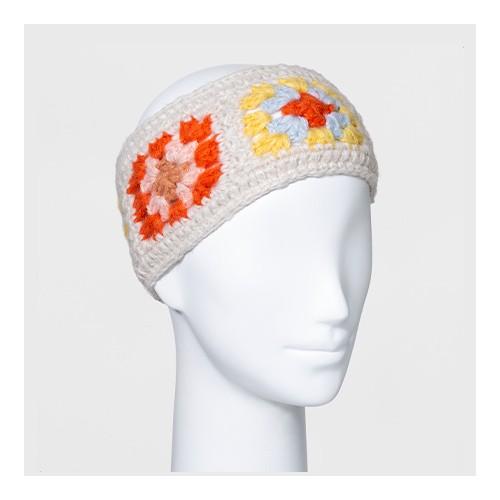 Women's Square Headband - Wild Fable™ Cream