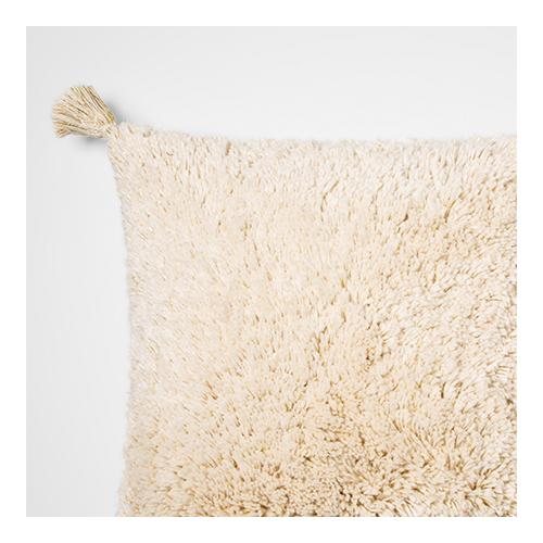 Metallic Tufted Textured Square Throw Pillow Cream/Gold - Opalhouse™