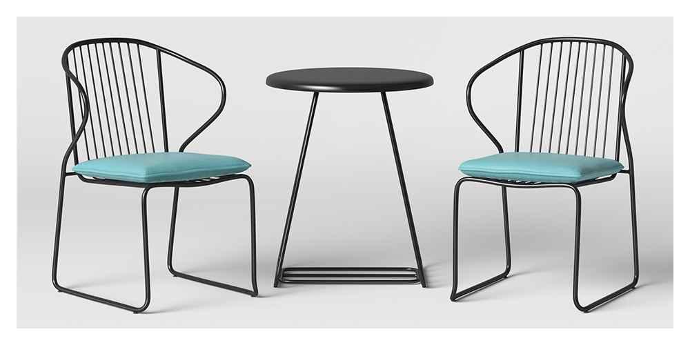 3pc Ulla Wire Patio Bistro Set - Project 62™