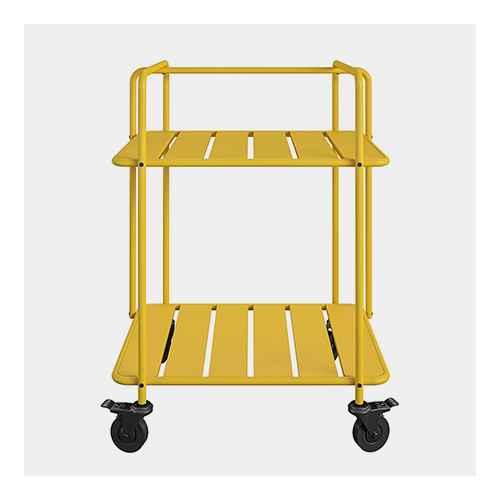 Penelope Indoor/Outdoor Cart - Yellow -  Novogratz