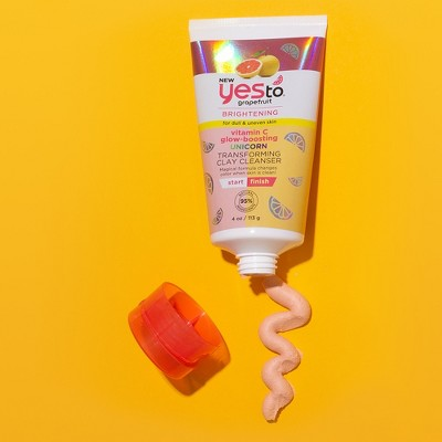 Yes To Grapefruit Vitamin C Glow-Boosting Unicorn Transforming Clay Cleanser