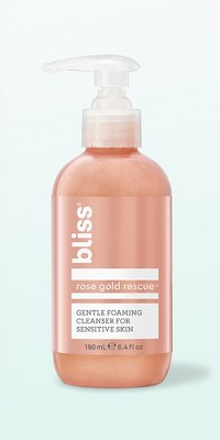 Bliss Rose Gold Rescue Soothing Cleanser - 6.4 fl oz