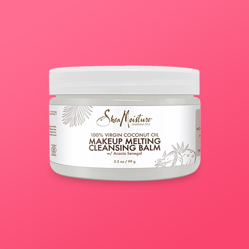 SheaMoisture Virgin Coconut Oil Makeup Melting Cleansing Balm - 3.5oz