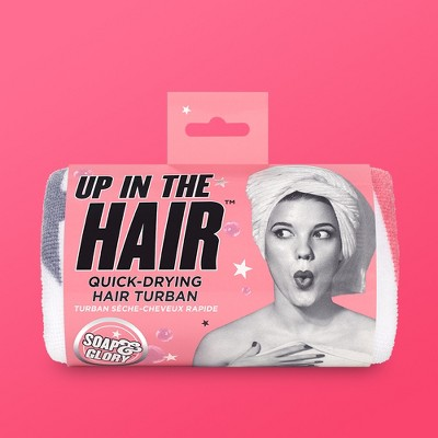 Soap & Glory Up In The Hair Quick-Drying Hair Turban