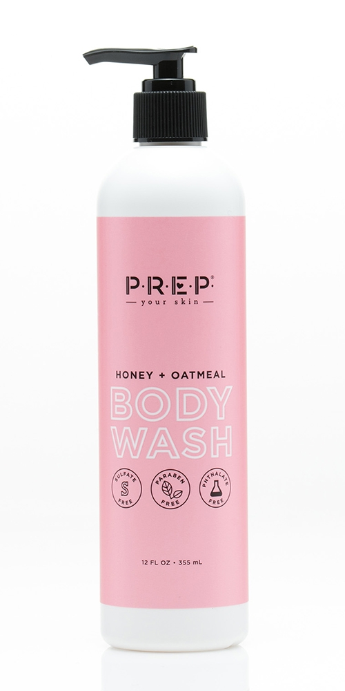 PREP Your Skin Honey and Oatmeal Body Wash - 12 fl oz