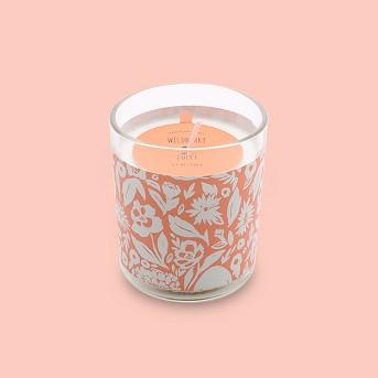 4.4oz Sleeved Glass Jar Candle Wildberry Poppy - Opalhouse™