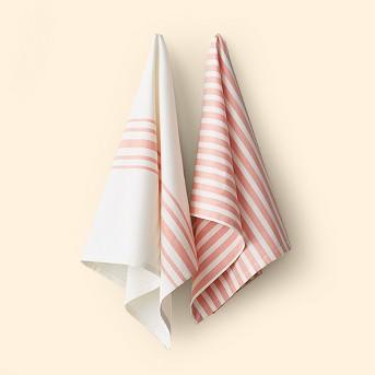 2pk Kitchen Towel Coral - Hearth & Hand™ with Magnolia