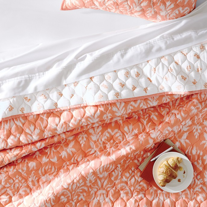 Coral Floral Quilt - Threshold™