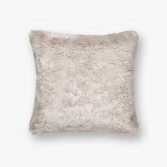 Faux Fur Square Throw Pillow - Threshold™