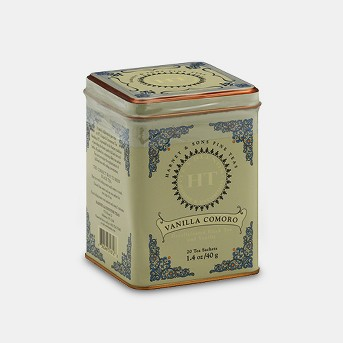 Harney & Sons Vanilla Comoro Decaffeinated Black Tea - 20ct