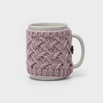 9.9oz Stoneware Sweater Mug - Threshold™