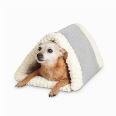 Tunnel Cave Pet Bed - Fleece - Wondershop™