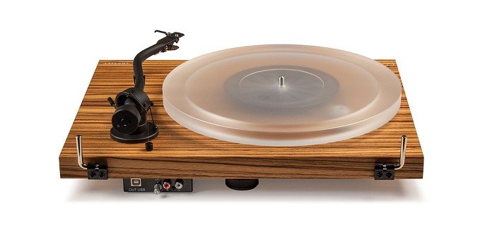 Crosley C20 Two Speed Manual Turntable Deck - Zebrano