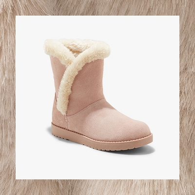 Women's Daniah Suede Winter Boots - Universal Thread™