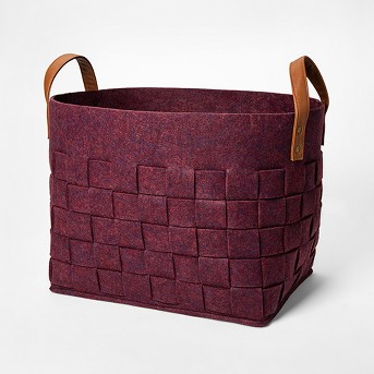 Decorative Box Basket - Berry - Threshold™