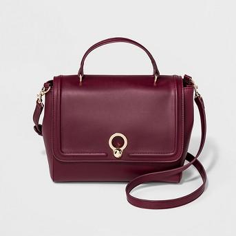 Clairemont Circle Life Top Handle Satchel Handbag - A New Day™