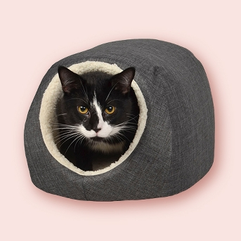 Cat & Dog Cave/Bed - Small - Boots & Barkley™