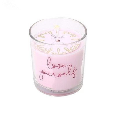 5.3oz Love Yourself Valentine's Day Candle Rosé - Opalhouse™