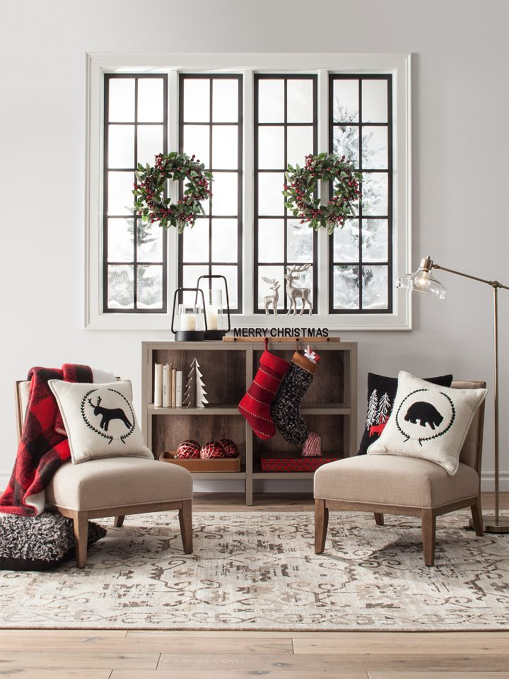 deck the halls walls everywhere else indoor holiday decor - Modern Home Decor