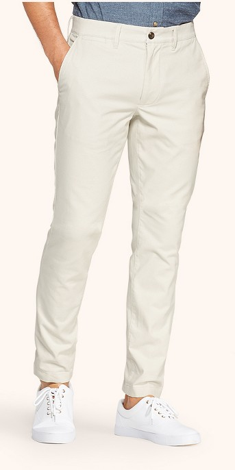 Men's Skinny Fit Chino Pants - Goodfellow & Co™ Cream