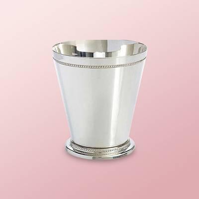 16oz 2pc Nickel Mint Julep Cup