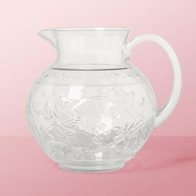 3qt Plastic Floral Embossed Beverage Pitcher - Opalhouse™