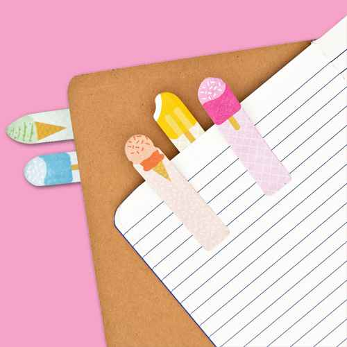 """Note Pals Sticky Note Tabs - Cool Treats, 6-Pack Magnetic Notepad Grocery List, To Do List Shopping Note Pad Reminders for Fridge Refrigerator Magnet Memo Pad, Colorful Fruit Designs, 3.5x9"""", Note Pals Sticky Note Pad - Arctic Animals, Paper Junkie 6-Pack Cute Fruit Shaped Sticky Notes, Memo Pads, 20 Sheets each, Office Decorations"""