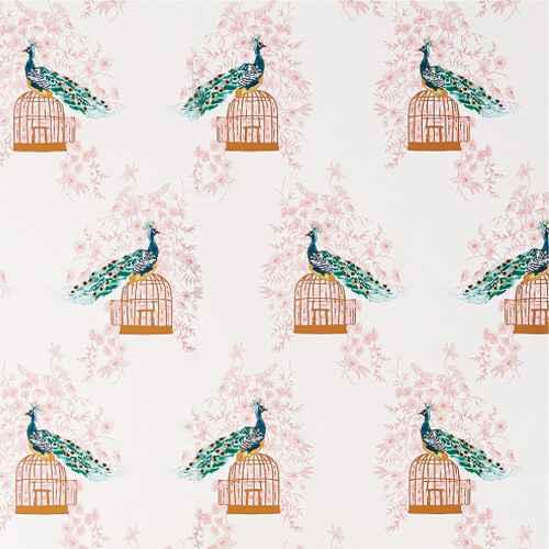 Peacock Peel & Stick Wallpaper - Opalhouse™, RoomMates Prickly Pear Cactus Peel & Stick Wallpaper