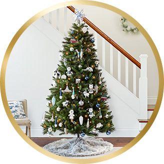 tree decorating kits - Duck Egg Blue Christmas Decorations