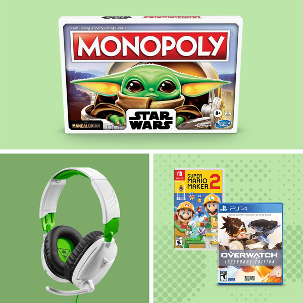 Gamer gifts for button-mashers, dice-rollers & everyone else.