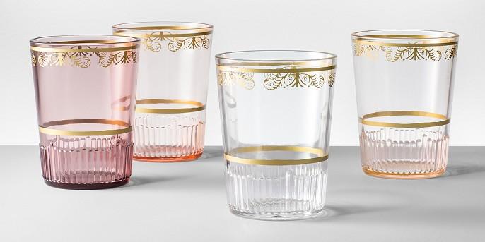 Plastic Tumblers 16oz Pink Set of 4 - Opalhouse™