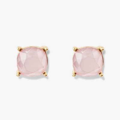 Stud Earrings - A New Day™ Gold/Pink