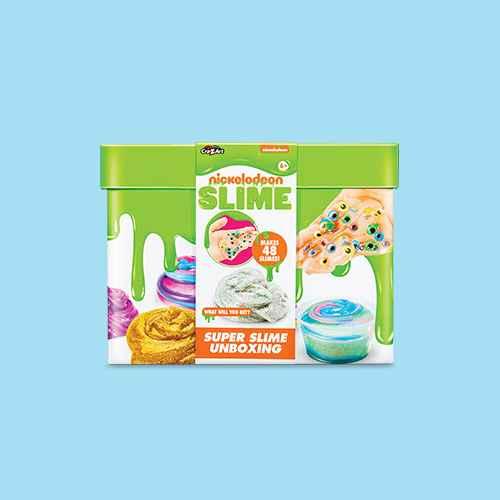 Nickelodeon Super Slime Unboxing Kit