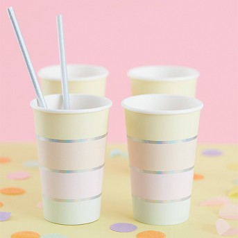 Pastel Party Disposable Cup - Ginger Ray