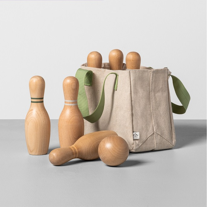 Wooden Bowling Game Set - Hearth & Hand™ with Magnolia