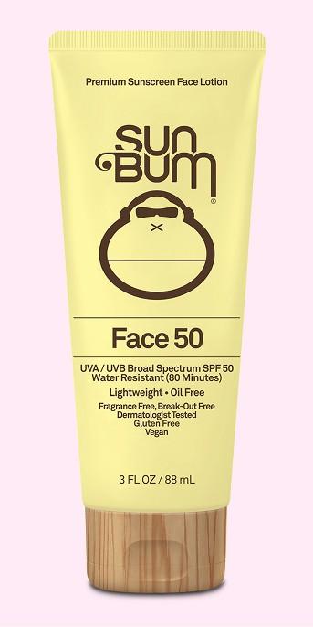 Sun Bum Sunscreen Face Lotion - SPF 50 - 3oz