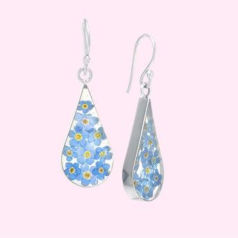 Fine Jewelry Earring Sterling Blue