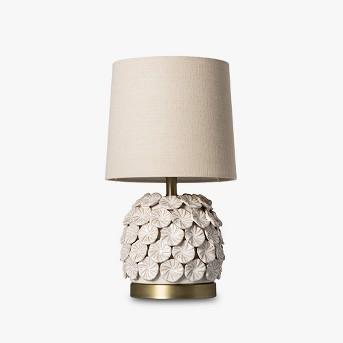 Ceramic Applique Table Lamp Cream - Opalhouse™