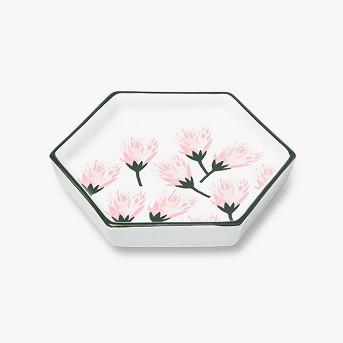 Hexagon Jewelry Storage Tray Protea Flower - Opalhouse™
