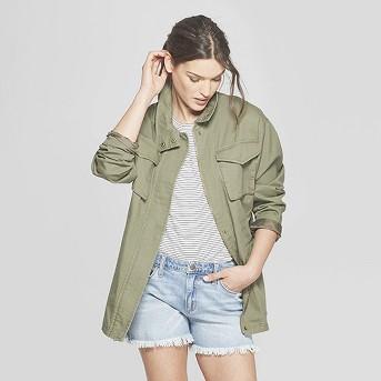 Women's Utility Field Jacket - Universal Thread™ Olive