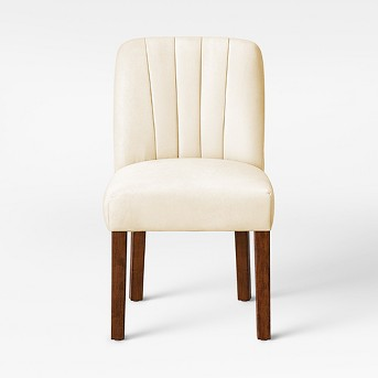 Malia Channel Back Tufted Velvet Dining Chair - Opalhouse™