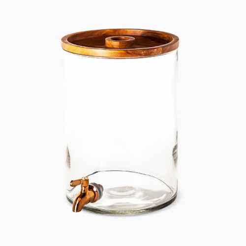 2gal Glass Modern Beverage Dispenser - Threshold™